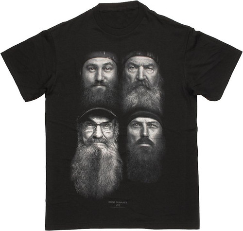 Duck Dynasty Four Beards T Shirt