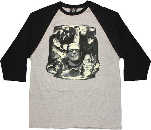Universal Studios Group Raglan T Shirt