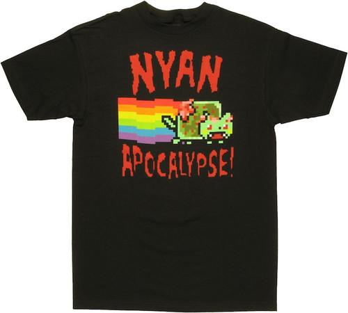 Nyan Cat Apocalypse T Shirt