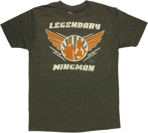 How I Met Your Mother Wingman T Shirt Sheer