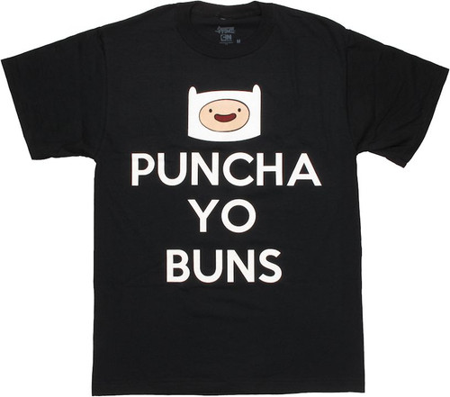 Adventure Time Puncha Yo Buns T Shirt