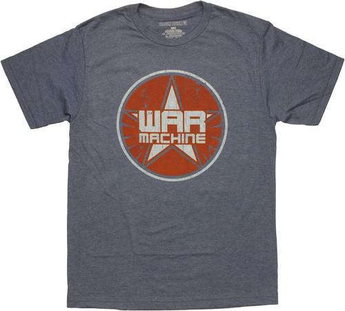 Iron Man 3 War Machine Logo T Shirt Sheer