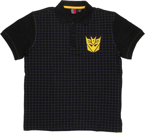 Transformers Decepticon Polo Shirt