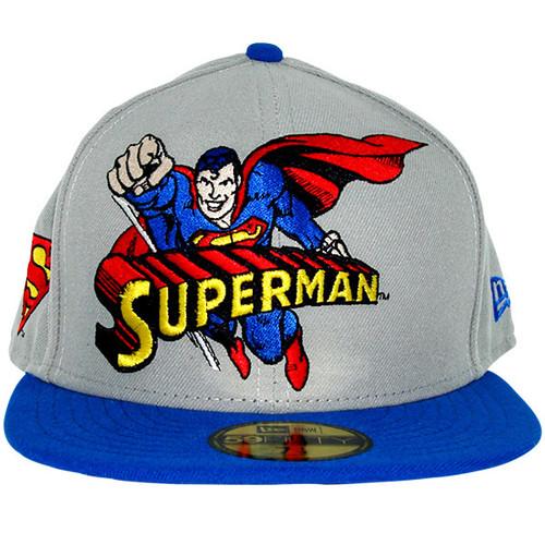 Superman Hero Logo 59FIFTY Hat