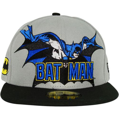 Batman Hero Logo 59FIFTY Hat e45f2a40b8d