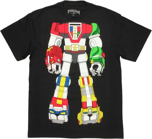Voltron Robot Body T Shirt