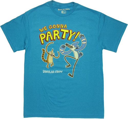 Regular Show We Gonna Party T Shirt