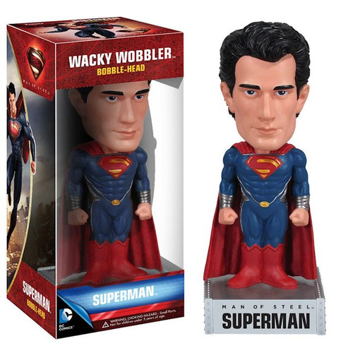 Superman Man of Steel Bobblehead