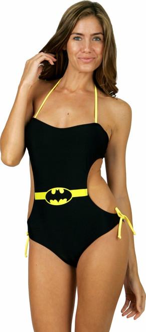 77aa888646cd2 Batman Bandeau Monokini Swimsuit