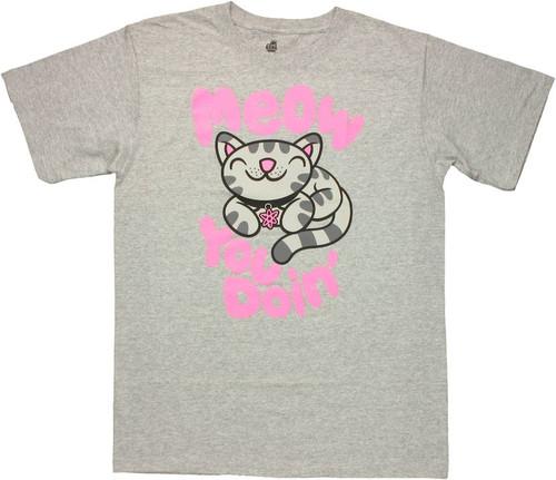 Big Bang Theory Meow You Doin T Shirt
