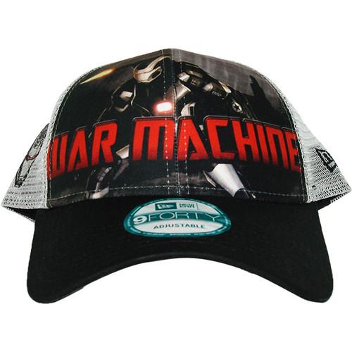 e868957927e Iron Man 3 War Machine Mesh Hat