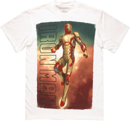 Iron Man 3 Mark XLII Soaring T Shirt