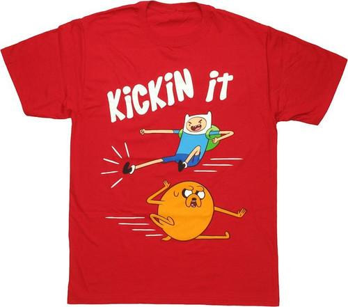 Adventure Time Kickin It T Shirt