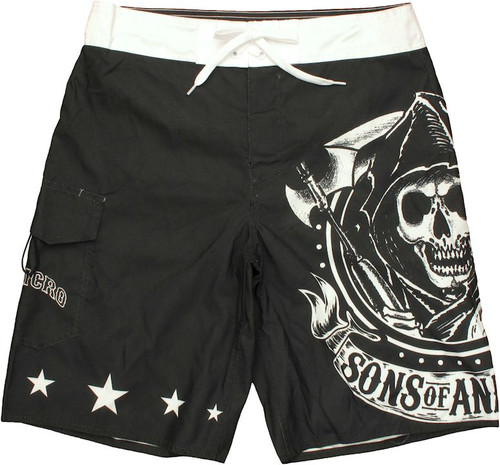 Sons of Anarchy Big Reaper Shorts