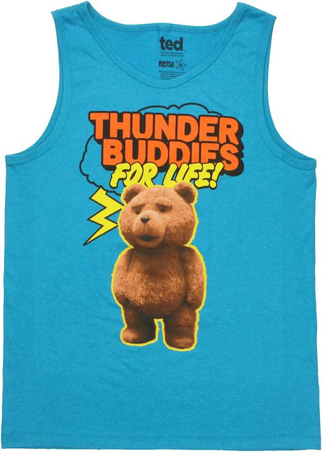 Ted Thunder Buddies For Life Tank Top