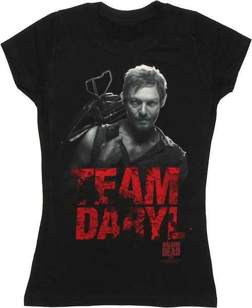 Walking Dead Team Daryl Baby Tee