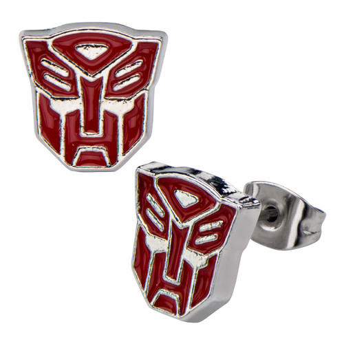 Transformers Autobot Stud Earrings