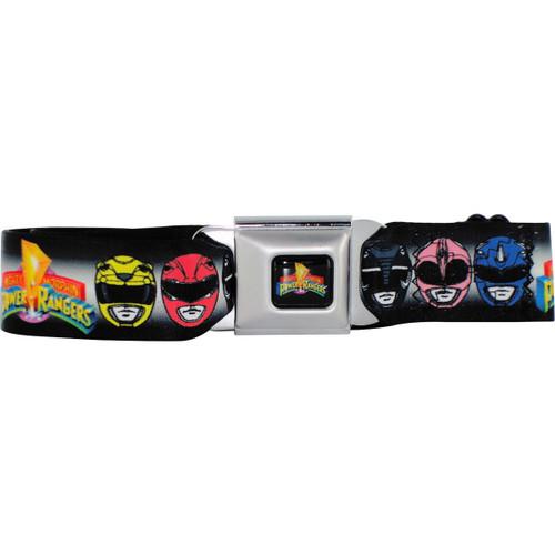 Power Rangers Helmets Seatbelt Mesh Belt