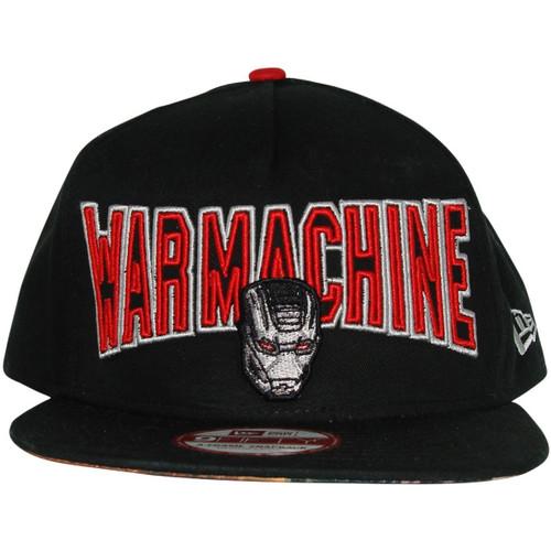 007d3b2c444 Iron Man 3 War Machine Name Mask Hat hat-iron-man-3-name-face-war-machine -snap