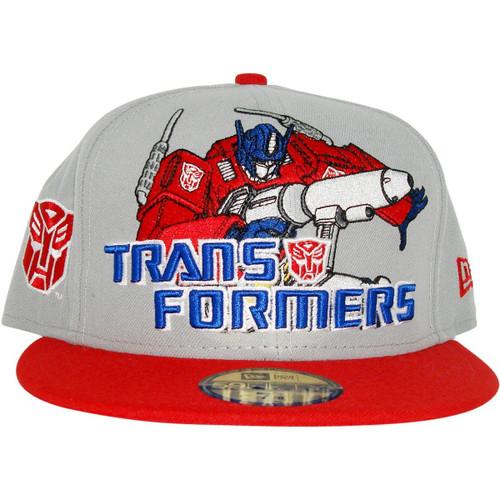 Transformers Autobot Hero Logo 59FIFTY Hat