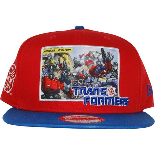Transformers Autobot Intro Panel Hat