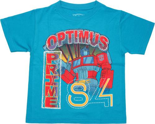 Transformers Optimus 84 Juvenile T Shirt