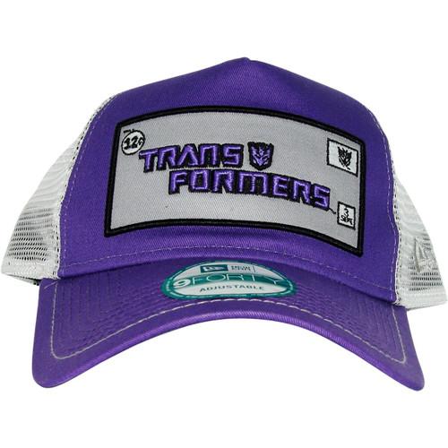 Transformers Decepticon Framed Logo Mesh Hat