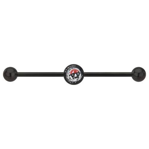 Sons of Anarchy Crystal Ball Industrial Barbell