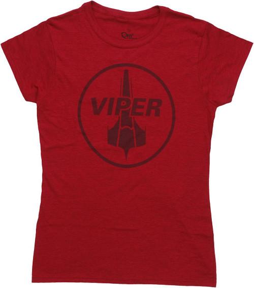 Battlestar Galactica Viper Squadron Baby Tee