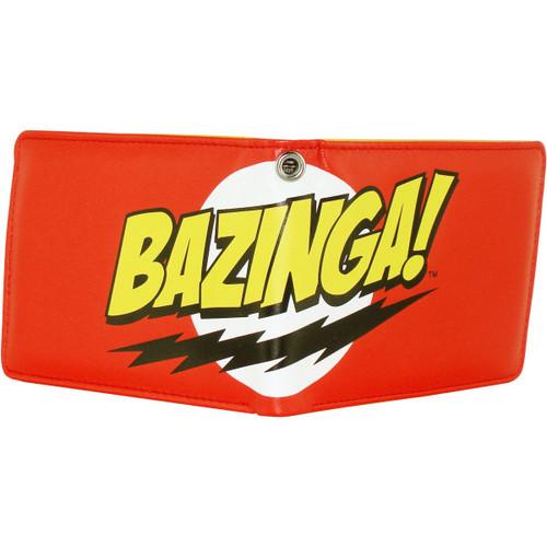 Big Bang Theory Bazinga Red Wallet