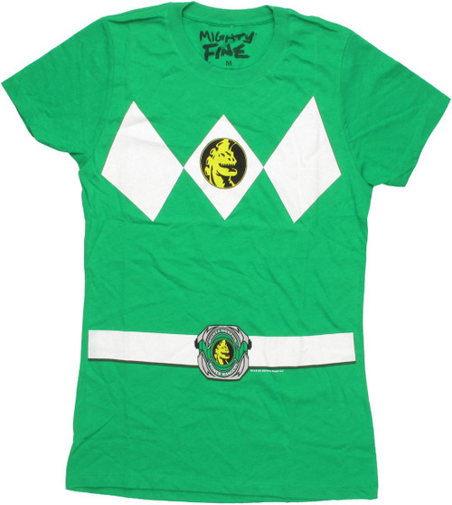 Power Rangers Green Baby Tee