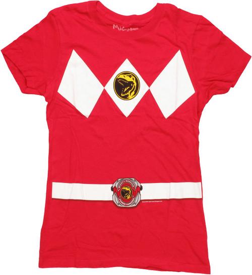 Power Rangers Red Baby Tee
