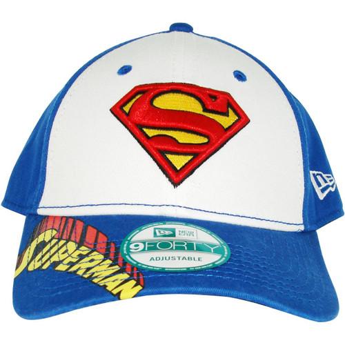 Superman Visor Print Hat