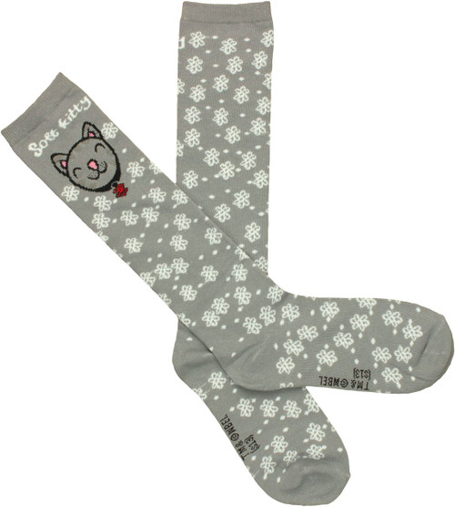 Big Bang Theory Soft Kitty Atom Socks