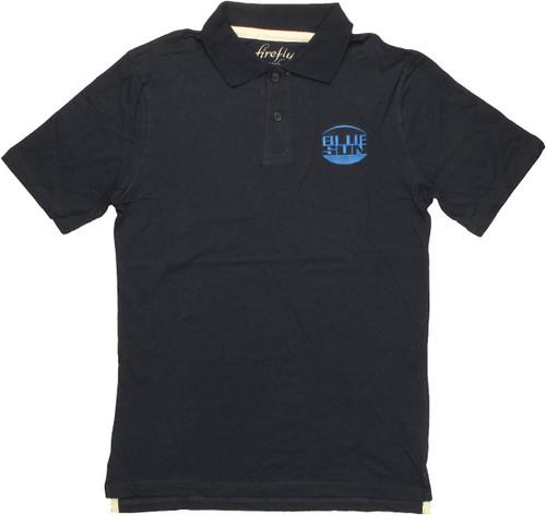 Firefly Blue Sun Polo Shirt