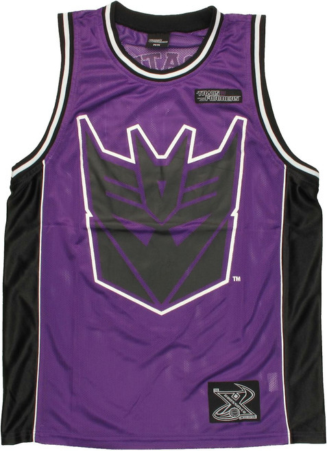 Transformers Decepticon Basketball Jersey