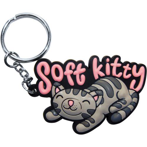 Big Bang Theory Soft Kitty Keychain