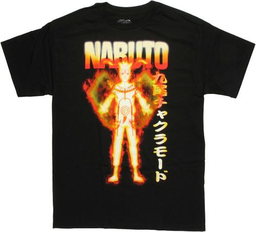 Naruto Nine Tails Chakra Mode T Shirt