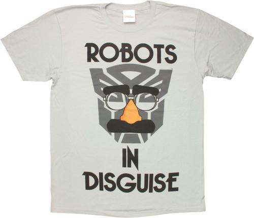 Transformers Autobot Disguise T Shirt Sheer