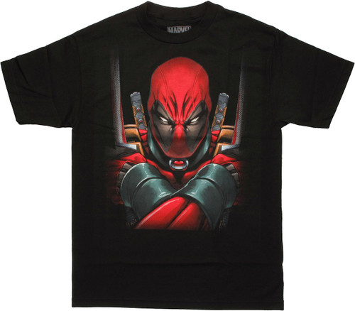 Deadpool Arms Crossed T Shirt