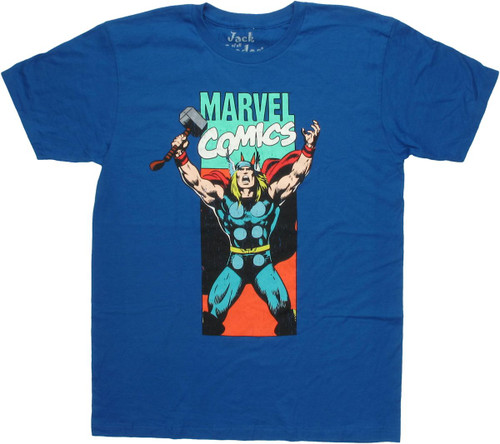Thor Marvel Panel T Shirt Sheer