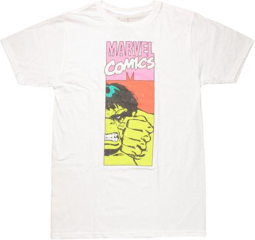 Incredible Hulk Marvel Panel T Shirt Sheer