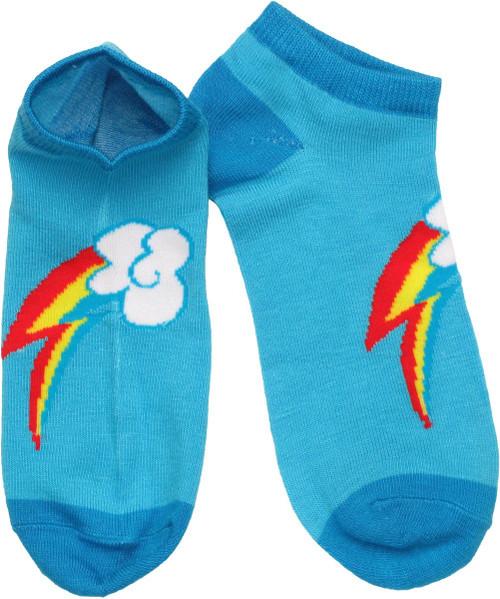 My Little Pony Rainbow Dash Mark Low Cut Socks