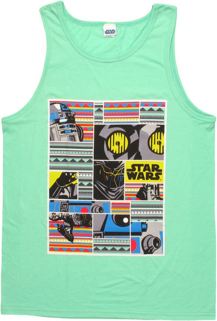 Star Wars Tribal Droids Tank Top
