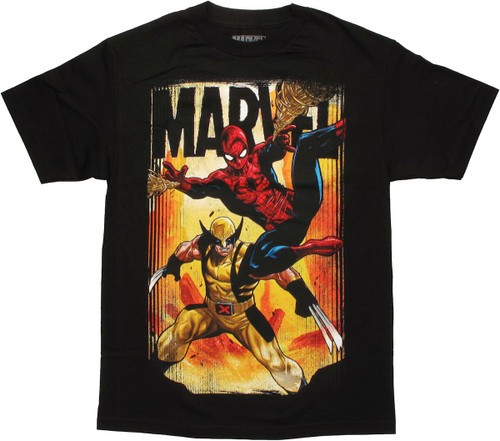 Marvel Avenge Team T Shirt