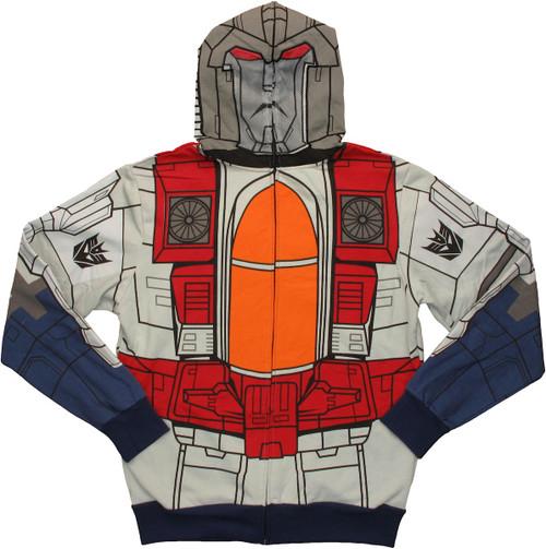 Transformers Starscream Costume Hoodie