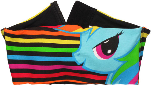 My Little Pony Rainbow Stripes Bandeau Top