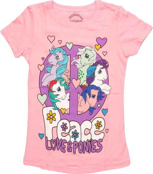 My Little Pony Peace Love Juvenile T Shirt