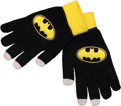 Batman Logo Touch Gloves