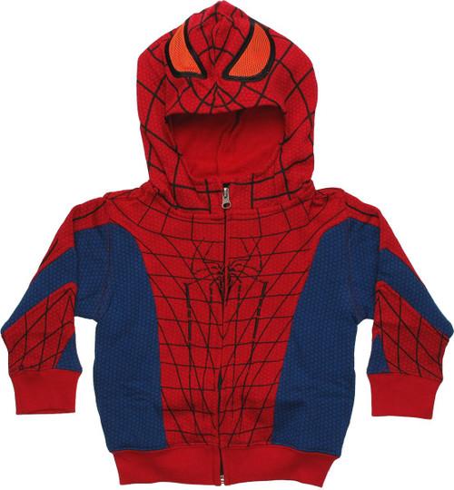 Amazing Spiderman Costume Toddler Hoodie